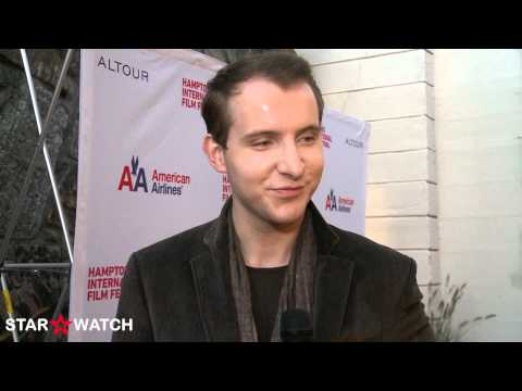 Greg Ammon red carpet interview at 20th annual Hamptons International Film Festival