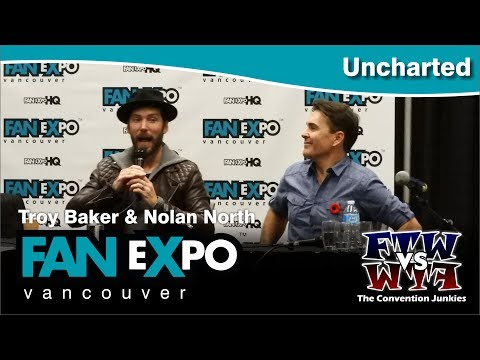 Nolan North & Troy Baker (Uncharted, Batman) - Fan Expo Vancouver 2017 Full Panel