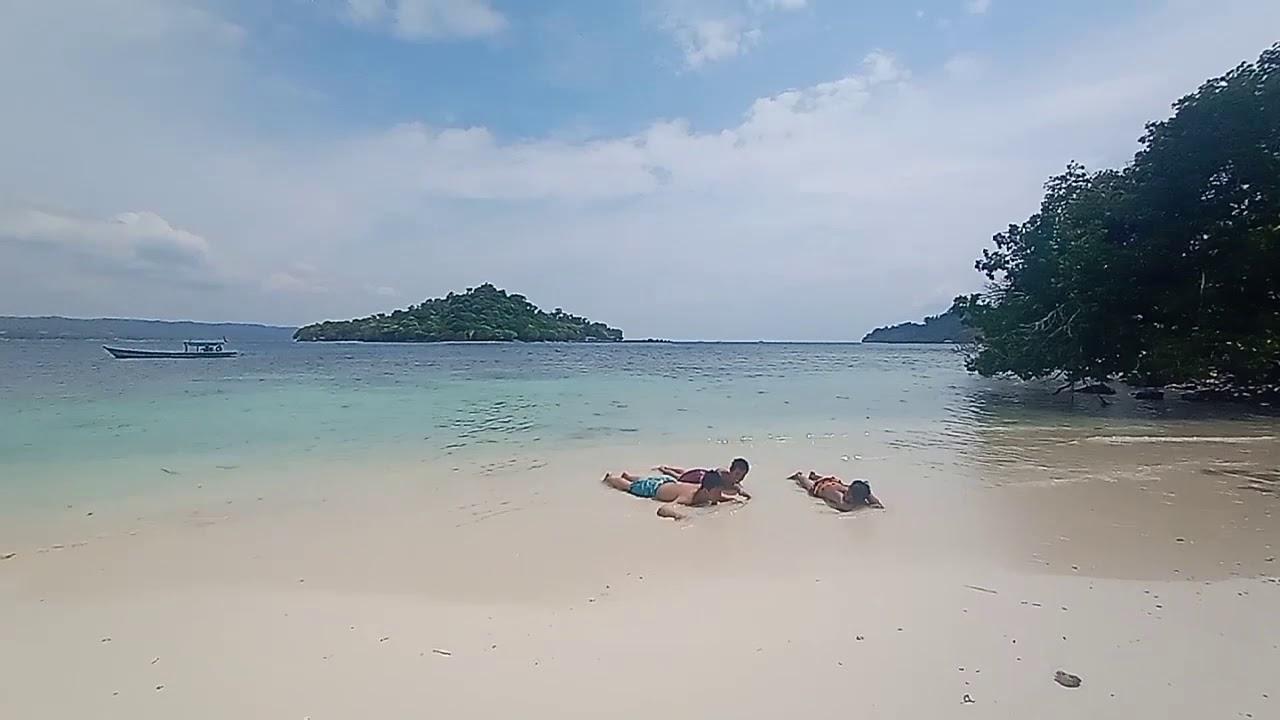 Pantai Pasir Putih Di Kota Bandar Lampung - YouTube
