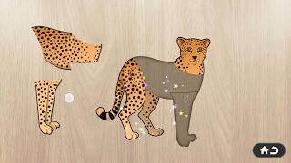 Puzzle 4 kids animals