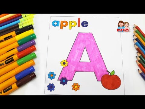 Coloring Pages for Kids | Drawing and Coloring for Children | Color Learning Video for Toddlers