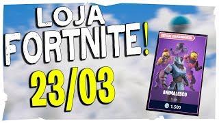 Loja Fortnite - Loja De Hoje 23/03/2019 skin Nova