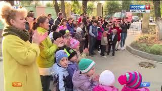 В детском социальном центре Волгограда появился пруд