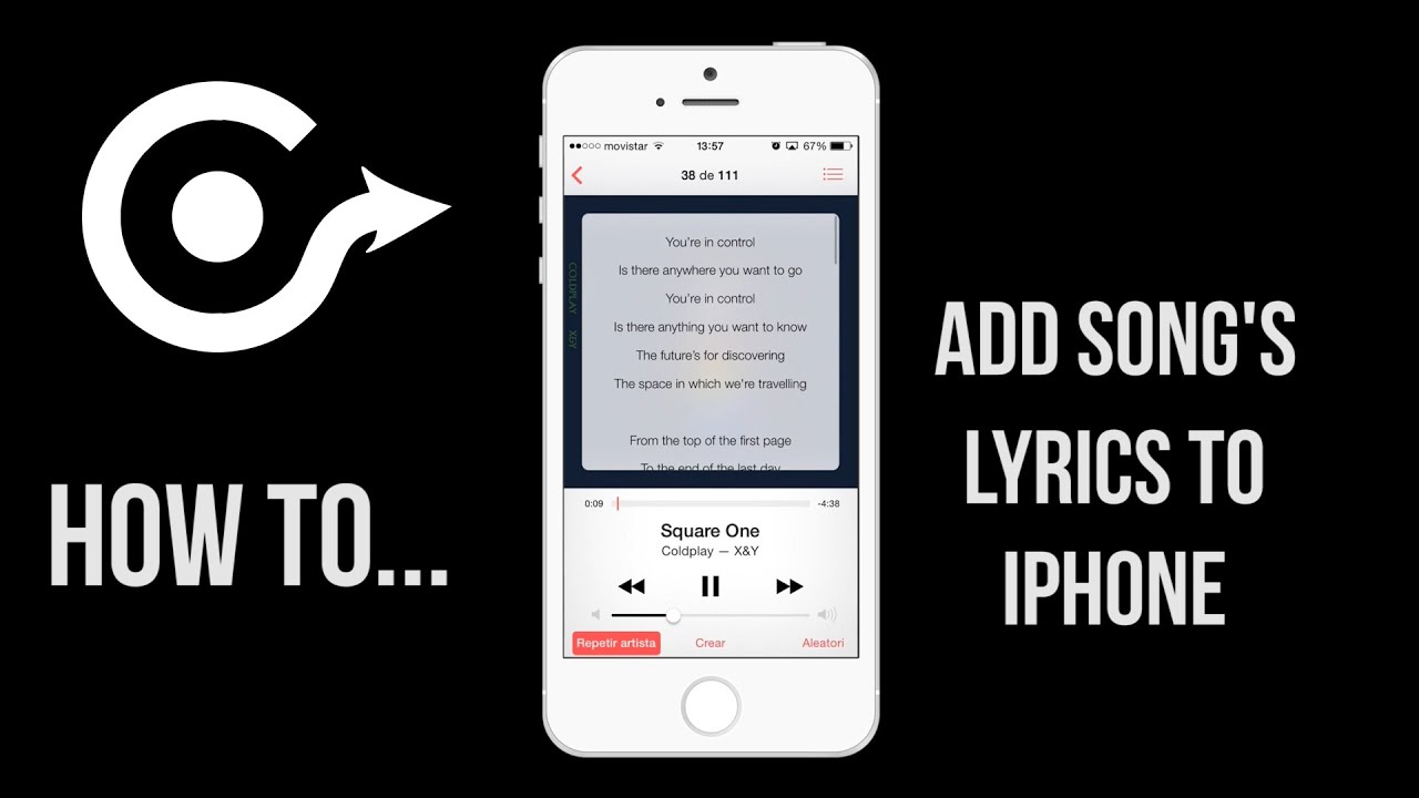 how to add songs to iphone how to add to iphone the song s lyrics 5556