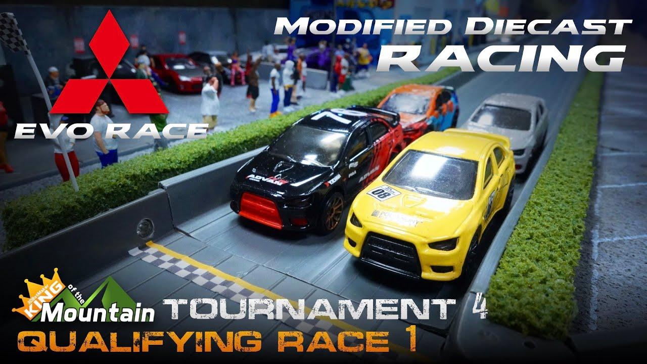 Qualify Race 1 🏁 KotM Tournament 4 | Modified Diecast Car Racing