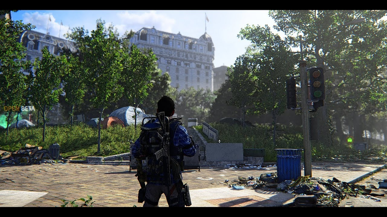 Division 2 Ultra Cinematic Graphics Mod   Division 2 ReShade WIP   Hotel  Battle