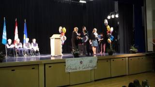 Stefan Dmitrovic Graduation; Calgary French Intern