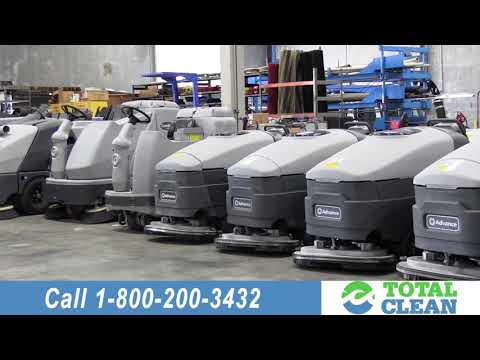 Floor Scrubber Rentals In California, Nevada, Arizona By Total Clean Equipment