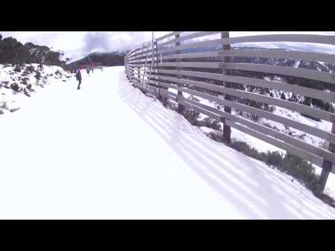 Falls Creek 2013 Snowboarding Wombats Ramble