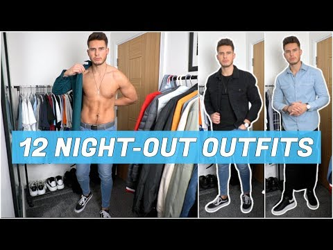 12 Simple Men's Night Out Outfits | Men's Fashion | Nightclub & Date Night Outfit Ideas
