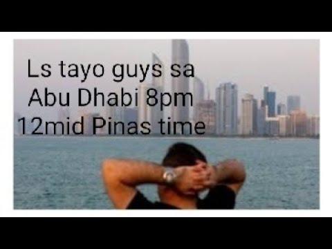12Ls Tara guys sa Abu Dhabi samahan Nyo ko