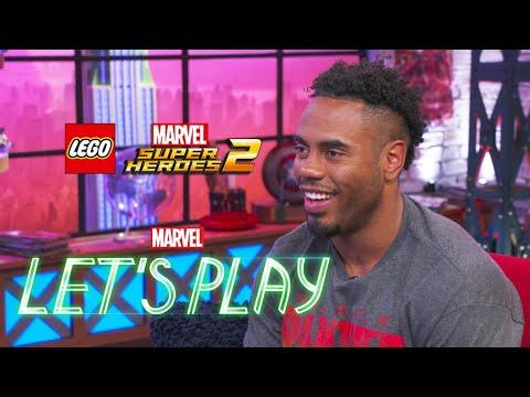 Rashad Jennings & Josh Play LEGO Marvel Super Heroes 2 | Marvel Let's Play