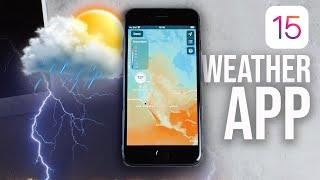 iOS 15 Weather - In Depth Look screenshot 4