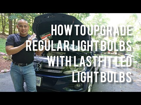 VW/Volkswagen Tiguan Low Beam LASFIT HID Unboxing, Review and How to Install Upgrade Instructions