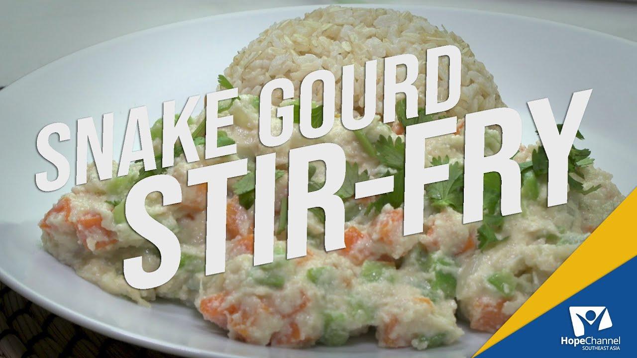 Snake Gourd Stir-Fry | Ready, Set... Cook!