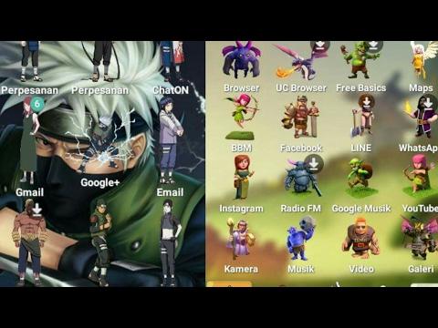 Cara merubah tampilan android menjadi animasi/game!!!