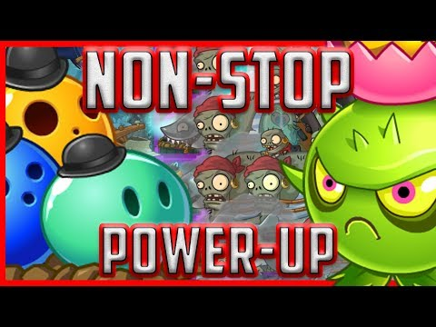 Plants Vs Zombies 2 Epic Hack - Bowling Bulb Vs Homing Thistle In Ultimate Non-Stop Power UP