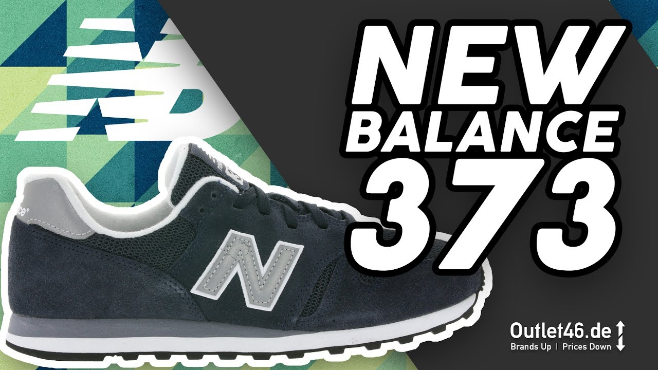 New Balance 373 Blau - DER SNEAKER-KLASSIKER ? DEUTSCH Review l Overview l  On Feet l Outlet46.de