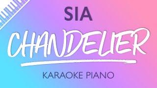 Chandelier (Piano Karaoke) Sia