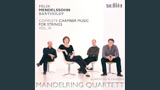 Four Pieces for String Quartet, Op. 81: Tema con variazioni. Andante sostenuto