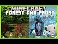 Minecraft - SURVIVE THE DREADED FROST AND FOREST MONSTERS OF THE LYCANITES MOD