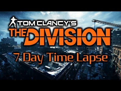 The Division Timelapse | 7 Days In Brooklyn | PC