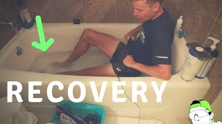 Recovery Action items after Hard Running Races