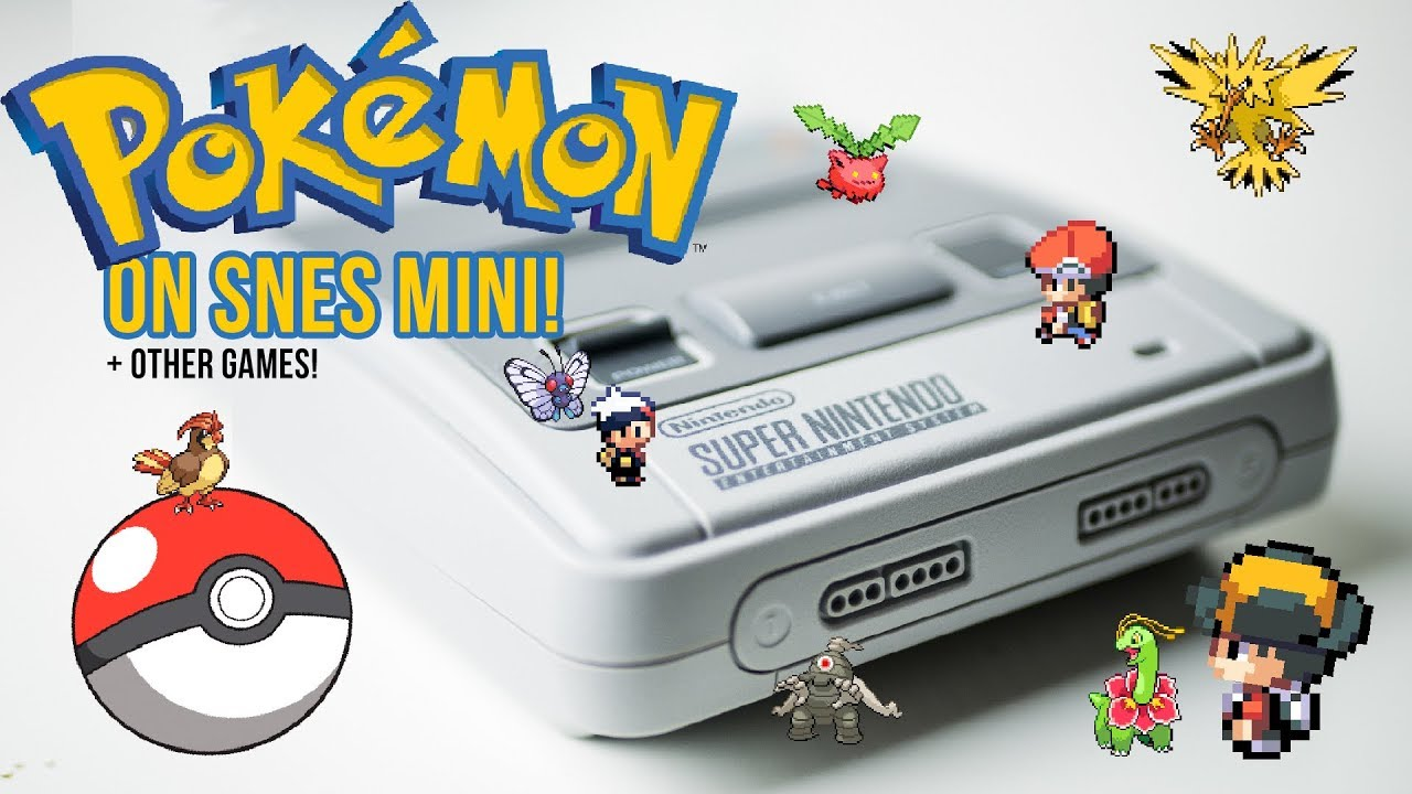 POKEMON on the SNES CLASSIC MINI! Add GBA, GBC and NES games to the SNES  CLASSIC MINI!