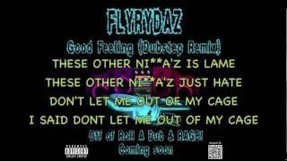 GOOD FEELING - FloRida (dubstep remix) FLYRYDAZ with lyrics