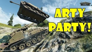 World of Tanks - Funny Moments   ARTY PARTY! (April 2018)
