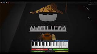 Fairy Tail Theme Song (ROBLOX Piano cover)