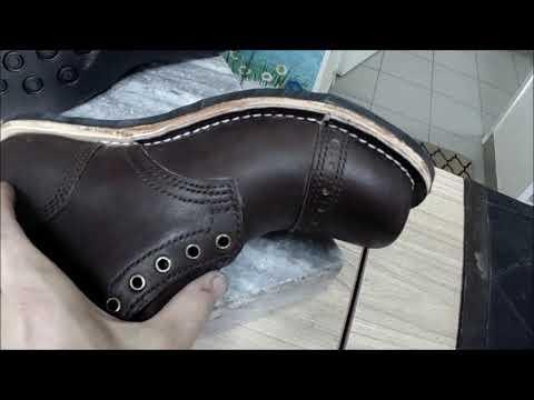 Доппельно-прошивная конструкция обуви