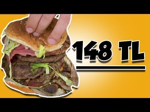 En Pahalı Hamburgeri Yaptırdık - Ennn Karışık Hamburger
