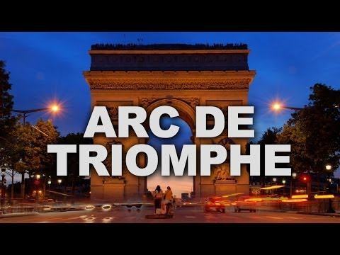 Arc de Triomphe, One of the Most Famous Monuments in Paris