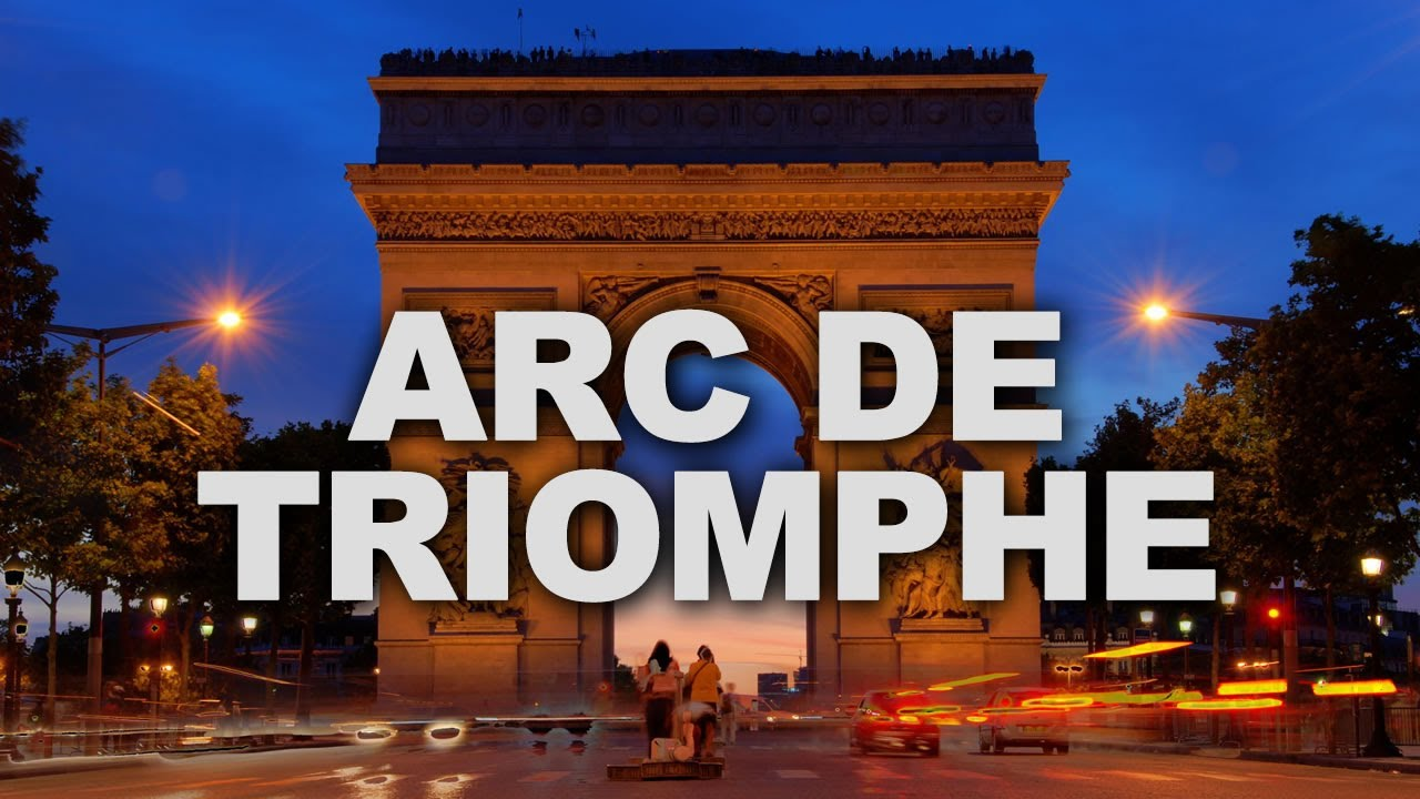 arc de triomphe one of the most famous monuments in paris youtube
