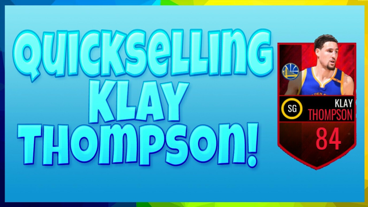 QUICKSELLING KLAY THOMPSON! - 40 LIKES - NBA LIVE MOBILE! - YouTube