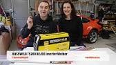 Bossweld MST185 Multipurpose Welder - YouTube