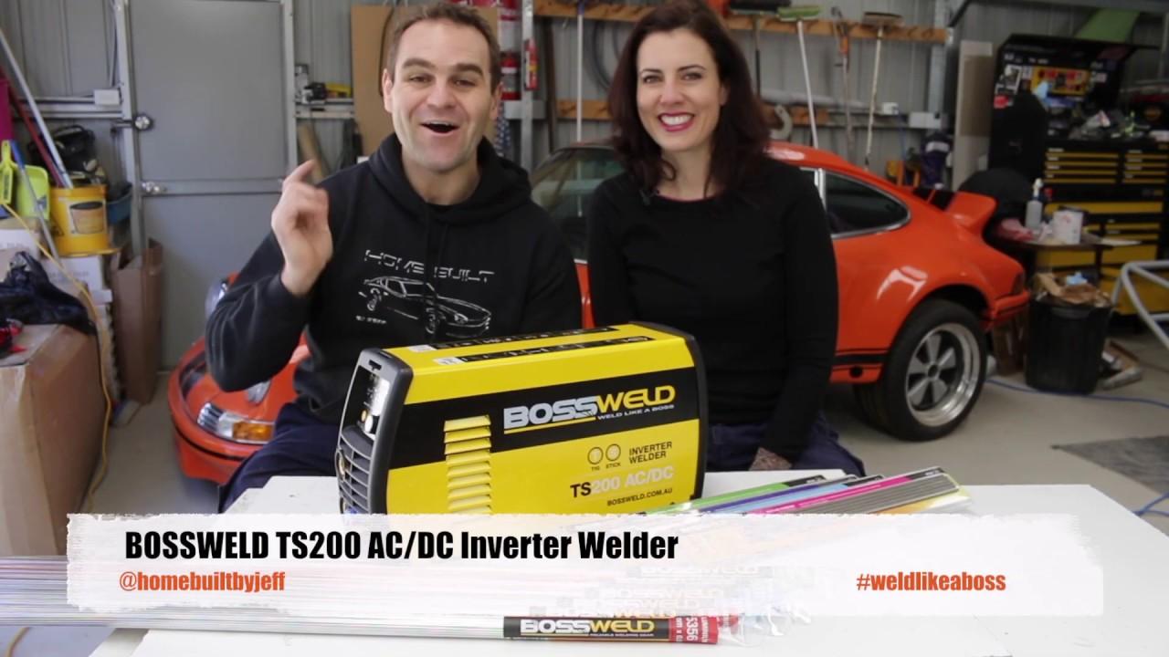 Bossweld 200 Amp TS200 TIG Stick Inverter Welder : LightTube