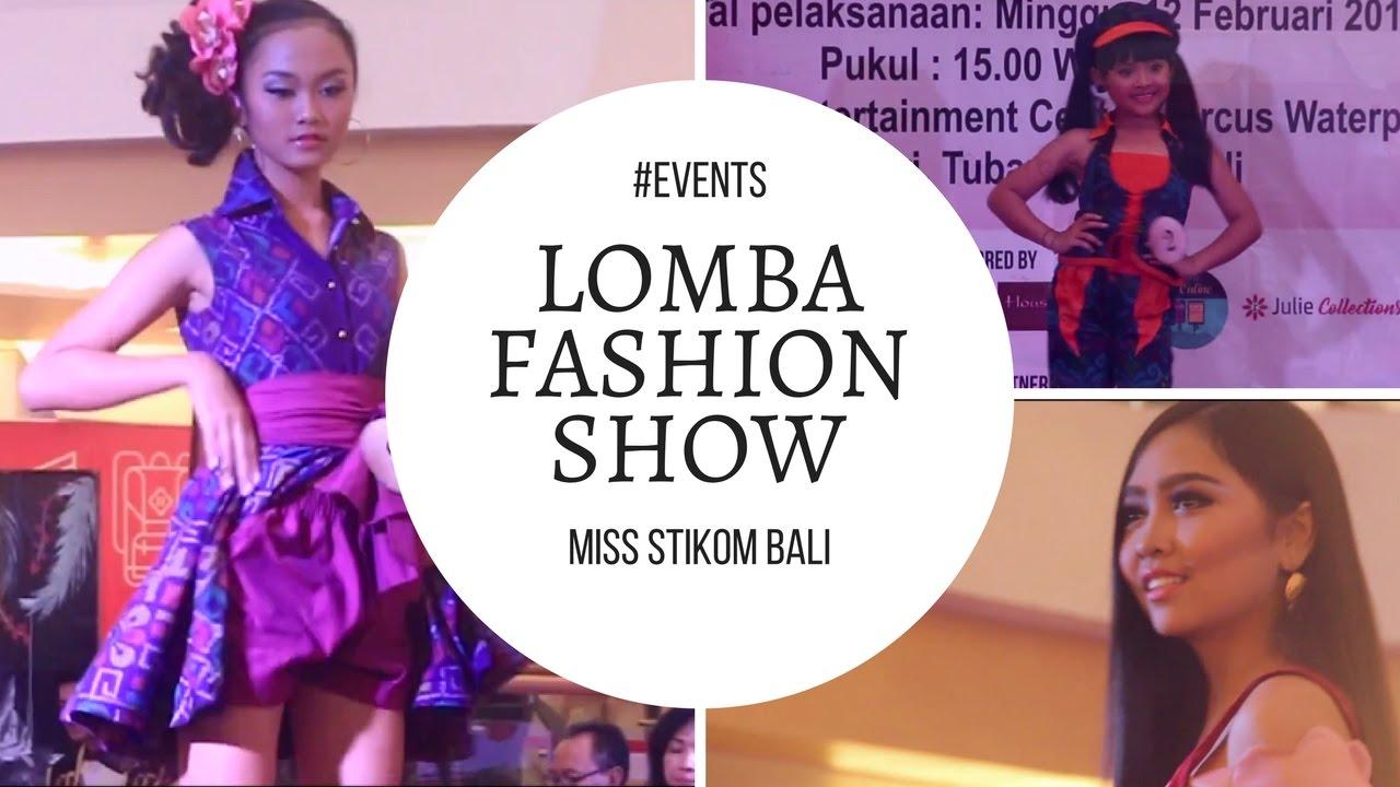 Lomba Fashion Show Endek Casual Modifikasi Youtube