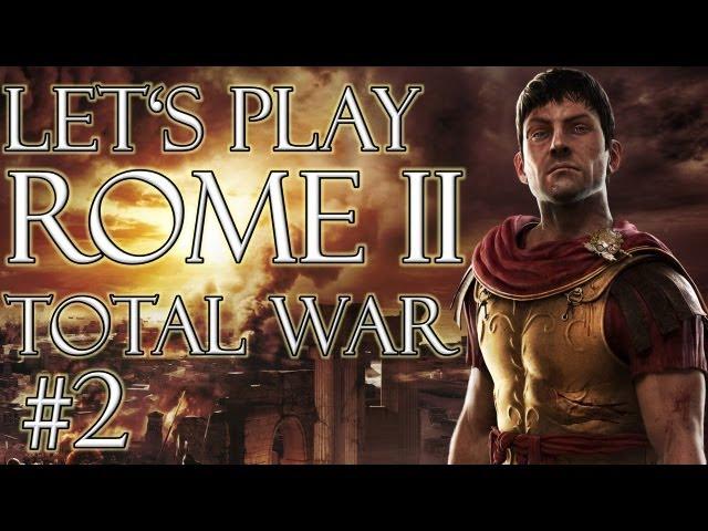 Let's Play Rome 2 Total War (German | HD): Cornelier #2 - Krieg, Öffentliche Ordnung, Wirtschaft