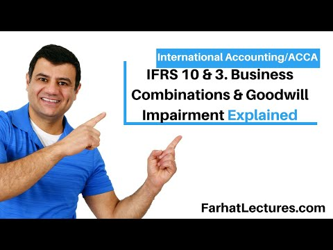 Business Combinations | Goodwill Impairment | IFRS 10 | IFRS 3 | Consolidated Financial Statements
