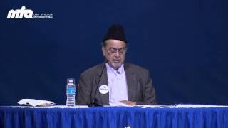 Opening Remarks by Dr. Ahsanullah Zafar (Amir Jamaat USA) @ Jalsa Salana USA 2013