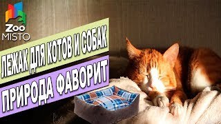 Лежак Природа Фаворит | Обзор лежака для кошек и собак Фаворит | Favorite lounger review