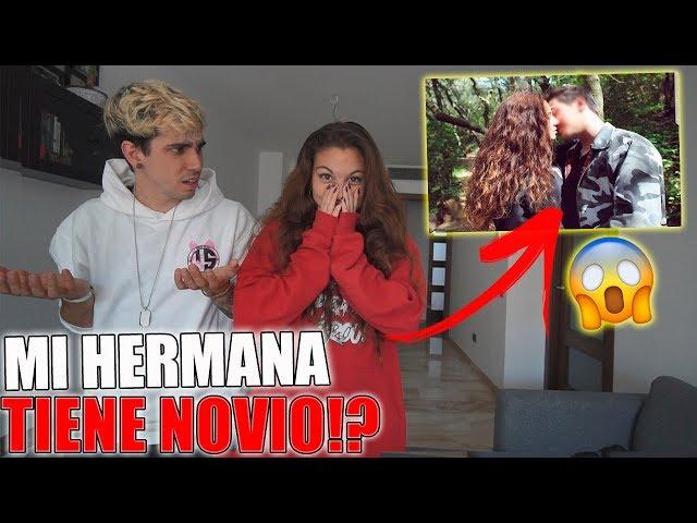 MI HERMANA PEQUEÑA TIENE NOVIO!? **PILLADA!**