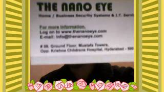 Thenanoeye Home / Business Security Systems & IT Services in Hyderabad