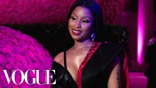 Nicki Minaj on Daring Fashion and Her H&M Dress | Met Gala 2017