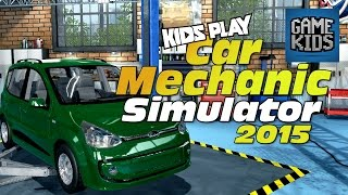 Car Mechanic Simulator Gameplay With Burnie And JD - Kids Play