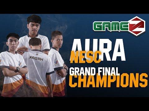 AURA NESC GAMEZ CHAMPIONS   Tournament Highlights