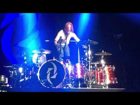 Halestorm Drum Solo - Oshawa, November 5, 2015