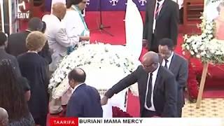 Buriani Mama Mercy Anna Mengi.